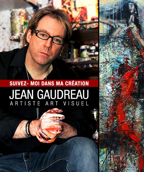 Jean Gaudreau artiste